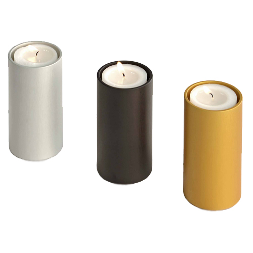 Cremation ashes candle urns