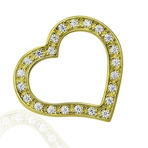Golden memory pendants