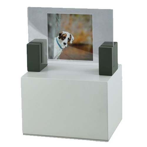 Photo frame pet urns